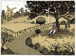 La pomme de Newton. Source : http://data.abuledu.org/URI/55a2a8e7-la-pomme-de-newton