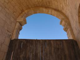 La porte nord à Jerash. Source : http://data.abuledu.org/URI/54b52ba2-la-porte-nord-a-jerash