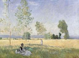 La prairie à Bezons. Source : http://data.abuledu.org/URI/5171c822-la-prairie-a-bezons