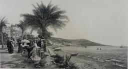 La promenade des Anglais en 1879. Source : http://data.abuledu.org/URI/599072b8-la-promenade-des-anglais-en-1879