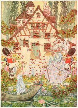 La reine des neiges d'Andersen en 1914. Source : http://data.abuledu.org/URI/53ca5c63-la-reine-des-neiges-d-andersen-en-1914