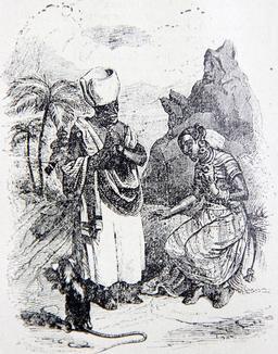 La souris métamorphosée en fille. Source : http://data.abuledu.org/URI/51fa0532-la-souris-metamorphosee-en-fille