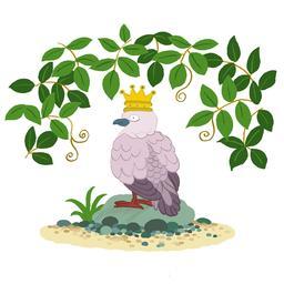 La tourterelle, reine des oiseaux. Source : http://data.abuledu.org/URI/566b48cc-la-tourterelle-reine-des-oiseaux