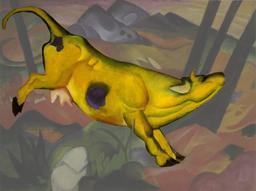 La vache jaune. Source : http://data.abuledu.org/URI/546a5ffb-la-vache-jaune