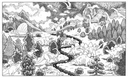 La vallée des dinosaures. Source : http://data.abuledu.org/URI/566b4680-la-vallee-des-dinosaures