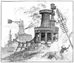 La Vie électrique en 1893. Source : http://data.abuledu.org/URI/59e0ef84-la-vie-electrique-en-1893