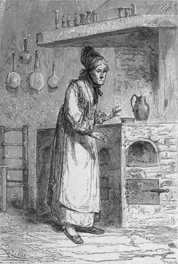 La vieille cuisinière. Source : http://data.abuledu.org/URI/5280c1ee-la-vieille-cuisiniere