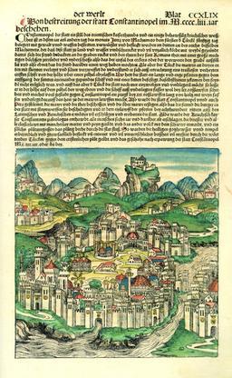 La ville de Constantinople au XVème siècle. Source : http://data.abuledu.org/URI/5295296e-la-ville-de-constantinople-au-xveme-siecle