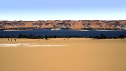 Lac d'Ounianga Sérir, Tchad. Source : http://data.abuledu.org/URI/55311a20-lac-d-ounianga-serir-tchad-