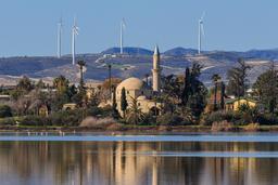 Lac salé de Larnaca. Source : http://data.abuledu.org/URI/58cdf9b9-lac-sale-de-larnaca