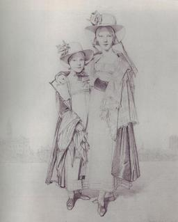 Lady Montagu et sa fille. Source : http://data.abuledu.org/URI/51fa5563-lady-montagu-et-sa-fille-