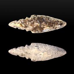 Lame de poignard préhistorique. Source : http://data.abuledu.org/URI/549dea1b-lame-de-poignard-prehistorique