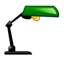 Lampe de bureau. Source : http://data.abuledu.org/URI/503a57ab-lampe-de-bureau
