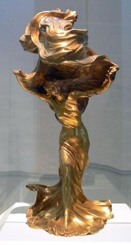 Lampe Loïe Fuller de 1901. Source : http://data.abuledu.org/URI/53e7e433-lampe-loie-fuller-de-1901