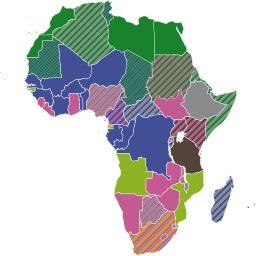 Langues officielles du continent africain. Source : http://data.abuledu.org/URI/52d26616-langues-officielles-du-continent-africain