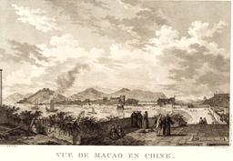 Lapérouse à Macao en Chine en 1787. Source : http://data.abuledu.org/URI/599097b1-laperouse-a-macao-en-chine-en-1787