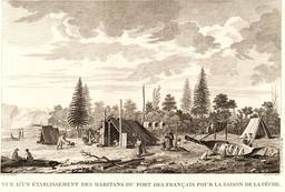 Lapérouse en Alaska en 1787. Source : http://data.abuledu.org/URI/59908cc8-laperouse-en-alaska-en-1787