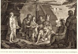 Lapérouse en Alaska en 1787. Source : http://data.abuledu.org/URI/59908da2-laperouse-en-alaska-en-1787