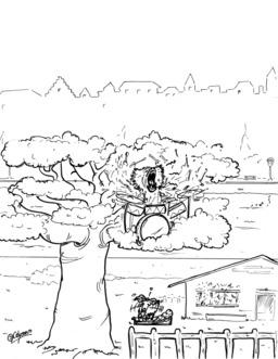 Le babouin et le bouc. Source : http://data.abuledu.org/URI/536f39b6-le-babouin-et-le-bouc