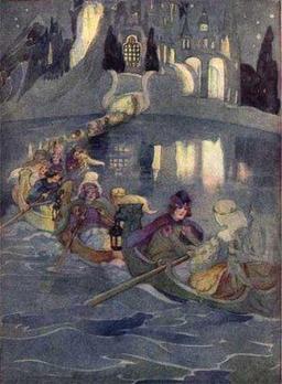 Le bal des douze princesses. Source : http://data.abuledu.org/URI/51c61a95-le-bal-des-douze-princesses
