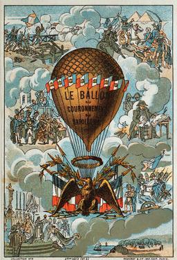 Le Ballon du couronnement de Napoléon en 1804. Source : http://data.abuledu.org/URI/5521c2fc-le-ballon-du-couronnement-de-napoleon-en-1804