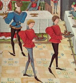 Le banquet de Renaut de Montauban. Source : http://data.abuledu.org/URI/530678b7-le-banquet-de-renaut-de-montauban