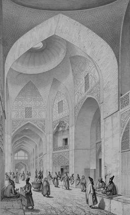 Le bazar des tailleurs en 1840. Source : http://data.abuledu.org/URI/56522705-le-bazar-des-tailleurs-en-1840