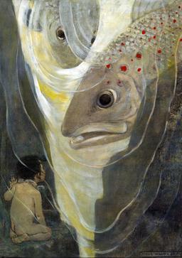 Le bébé de l'eau et le poisson. Source : http://data.abuledu.org/URI/53445f83-le-bebe-de-l-eau-et-le-poisson