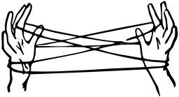 Le berceau du chat en jeu de ficelle. Source : http://data.abuledu.org/URI/52f53f69-le-berceau-du-chat-en-jeu-de-ficelle