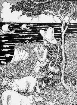 Le berger et la mer. Source : http://data.abuledu.org/URI/5199cf6f-le-berger-et-la-mer