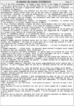 Le Blackie de Mamie. Source : http://data.abuledu.org/URI/51d150e3-le-blackie-de-mamie