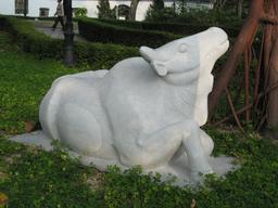 Le boeuf du zodiaque chinois. Source : http://data.abuledu.org/URI/535aefe3-le-boeuf-du-zodiaque-chinois