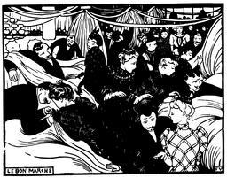 Le bon marché en 1893. Source : http://data.abuledu.org/URI/55192b28-le-bon-marche-en-1893