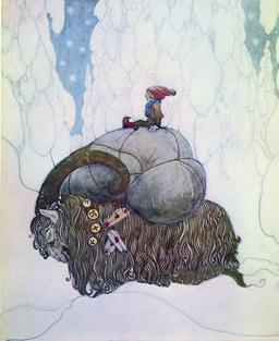 Le bouc de Noël suédois. Source : http://data.abuledu.org/URI/519930ce-le-bouc-de-noel-suedois