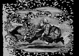 Le briquet d'Andersen : la sorcière. Source : http://data.abuledu.org/URI/511027a3-le-briquet-d-andersen-la-sorciere