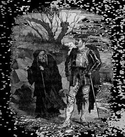 Le briquet d'Andersen : la sorcière. Source : http://data.abuledu.org/URI/5110283a-le-briquet-d-andersen-la-sorciere