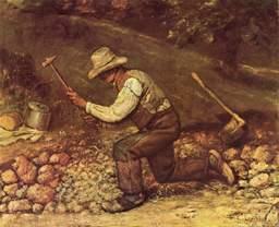 Le casseur de pierres. Source : http://data.abuledu.org/URI/47f4bd21-le-casseur-de-pierres