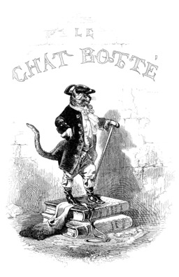 Le chat botté, 1843. Source : http://data.abuledu.org/URI/519952db-le-chat-botte-1843