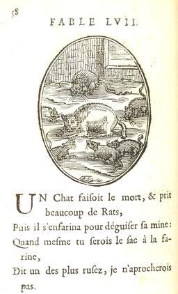 Le chat et les rats. Source : http://data.abuledu.org/URI/59164444-le-chat-et-les-rats
