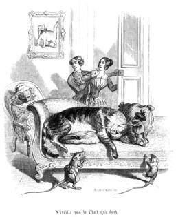 Le chat et les souris. Source : http://data.abuledu.org/URI/53502524-le-chat-et-les-souris