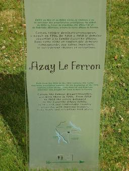 Le château d'Azay-Le-Ferron. Source : http://data.abuledu.org/URI/50f068f1-le-chateau-d-azay-le-ferron