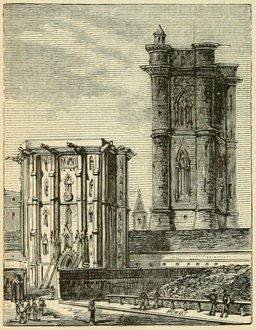 Le château de Vincennes. Source : http://data.abuledu.org/URI/524de553-le-chateau-de-vincennes