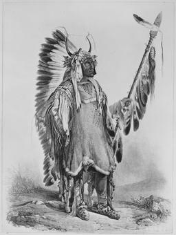Le chef indien Quatre-Ours. Source : http://data.abuledu.org/URI/53b94395-le-chef-indien-quatre-ours