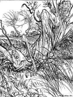 Le chêne et le roseau. Source : http://data.abuledu.org/URI/517d3ac0-le-chene-et-le-roseau