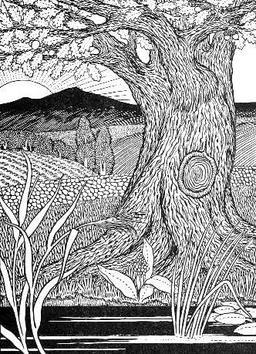 Le chêne et le roseau. Source : http://data.abuledu.org/URI/519bf08d-le-chene-et-le-roseau