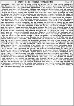 Le chêne et les roseaux. Source : http://data.abuledu.org/URI/517c23a3-le-chene-et-les-roseaux