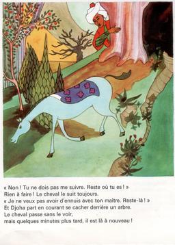Le cheval de Djoha - 5. Source : http://data.abuledu.org/URI/561dea64-le-cheval-de-djoha-5
