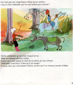 Le cheval de Djoha - 9. Source : http://data.abuledu.org/URI/561ded0c-le-cheval-de-djoha-9