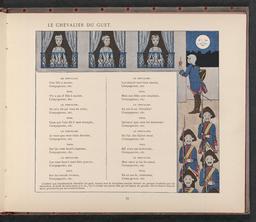 Le chevalier du guet. Source : http://data.abuledu.org/URI/50f2e210-le-chevalier-du-guet