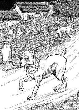 Le Chien à qui on a coupé les oreilles. Source : http://data.abuledu.org/URI/519c9753-le-chien-a-qui-on-a-coupe-les-oreilles